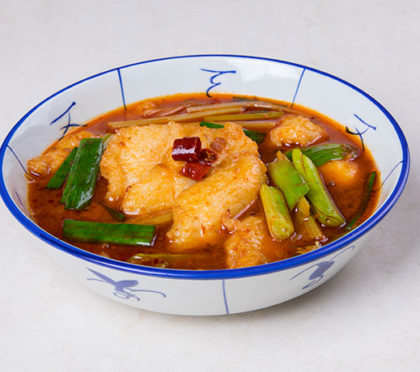 STIR-FRIED PRAWNS AND SCALLOP WITH FERMENTED BEAN SAUCE